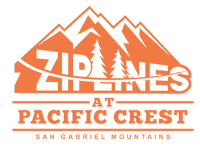 Web Design for Ziplines at Pacific Crest in Wrightwood, CA
